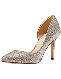 Stiletto High Heel Pointed Closed Toe Slip On Dress Party Wedding Evening Pumps Shoes for Women