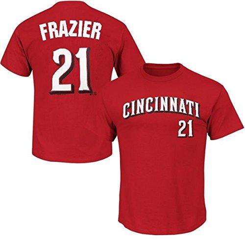 (Majestic Cincinnati Reds Todd Frazier #21 Mens Player Shirt Shirt Red Big Sizes (3XL))