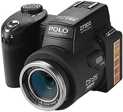 DFCHT Digital Video Camera 3.0 Inch Telephoto Camera 33Mp Resolution 24X Optical Zoom 33 Million Pixels 1080P HD Camera Auto Focus