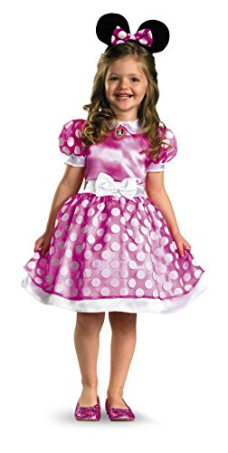 Mickey Mouse Halloween Costume Toddler (Minnie Mouse Clubhouse Classic Girl's Costume - 4-6x)