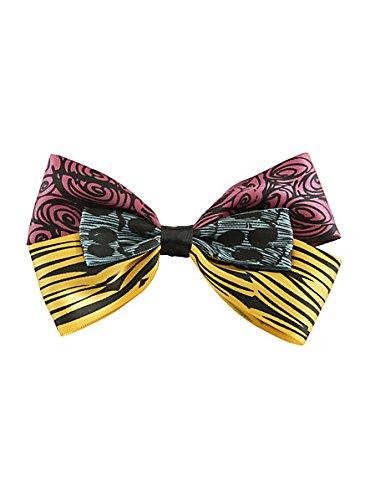 [The Nightmare Before Christmas Sally Hair Bow] (Sally A Nightmare Before Christmas Costumes)
