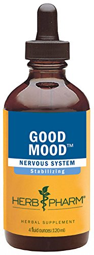 Herb Pharm Good Mood Herbal Formula with St. John's Wort for Healthy Emotional Balance - 4 Ounce
