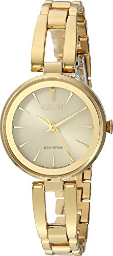 - Citizen Watches Women's EM0638-50P Eco-Drive Gold Tone One Size