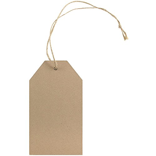 ft Tags with Twine String - 4 1/4