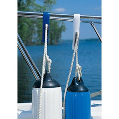 Taylor Made Products 1017 Tidy-Ups Boat Fender Adjuster (Standard Rails, Blue)