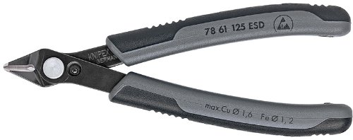 KNIPEX 78 61 125 ESD Electronics Super Knips Comfort Grip