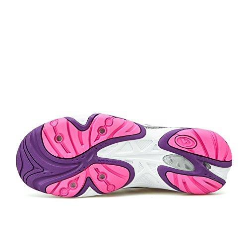 Clorts Mujeres Water Shoe Cerrado Dedo Sandalias De Secado Rápido 3h025 Deep Purple