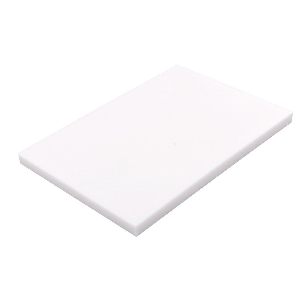 MagiDeal Sello de Caucho Blanco Talla Bloques para DIY Propios Sellos - 15x10x0.8cm