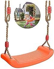 Sunshine smile Schommelstoel, schommelzitje voor kinderen, tuinschommel, kindernestschommel, outdoor kinderschommel, tuin, outdoor, kinderschommel, kunststof schommel