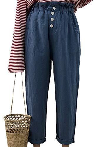 Ample Simgahuva Harem Pantalons Vêtements Bleu Femme w4qUY4P