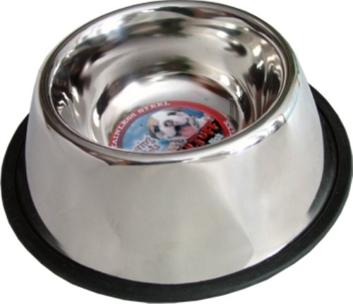 Loving Pets Deep No-Tip Dog Bowl, 32-Ounce