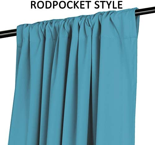 home, kitchen, home décor, window treatments, curtains, drapes,  panels 5 picture Blackout Curtain Panels - (Teal Blue Color)- Rod Pocket promotion