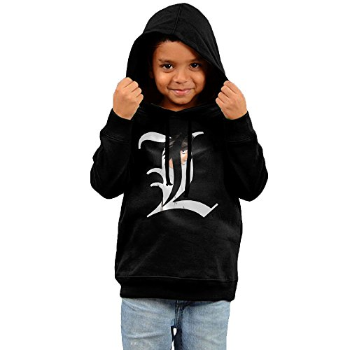 Price comparison product image 2016 Death Note Logo Cool Hoodies Black Hoodies For Your Kid