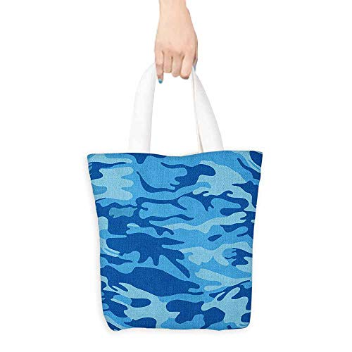Tote bag Camouflage Abstract Camouflage Costume Concealment from the Enemy Hiding Pattern Coin cash wallet 16.5