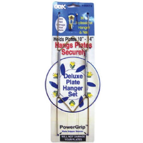 OOK 50472 Deluxe Plate Hanger with Steel Pro Supports Up to 30 Pounds 10-Inch to 14-Inch  sc 1 st  Amazon.com & Wall Plate Hangers: Amazon.com