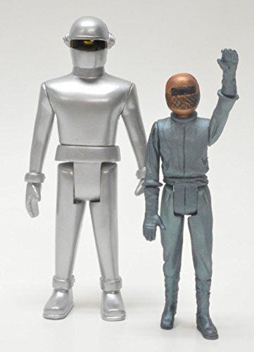 Gort Robot - Monstarz The Day the Earth Stood Still Gort and Klaatu Retro Action Figure 2 Pack