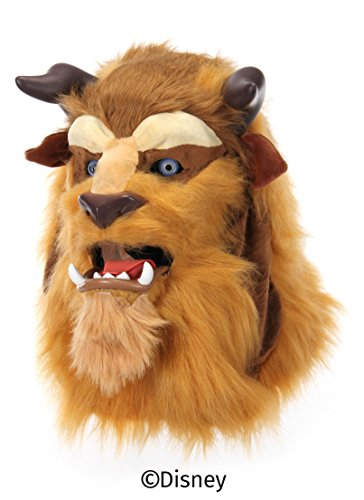 Disney Beast Adult Costumes (Disney's Beauty and the Beast Mouth Mover Mask by elope)