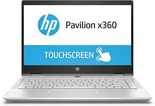 HP Pavilion x360 14-cd0508na (4AZ77EA) 14″ Touch Laptop, Intel Core i5-8250U Processor, 8GB RAM, 256GB SSD, Windows 10 Home – Silver