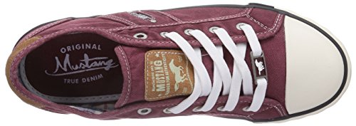 Mustang 1099-302-9 Damen Sneakers Rot (55 bordeaux)