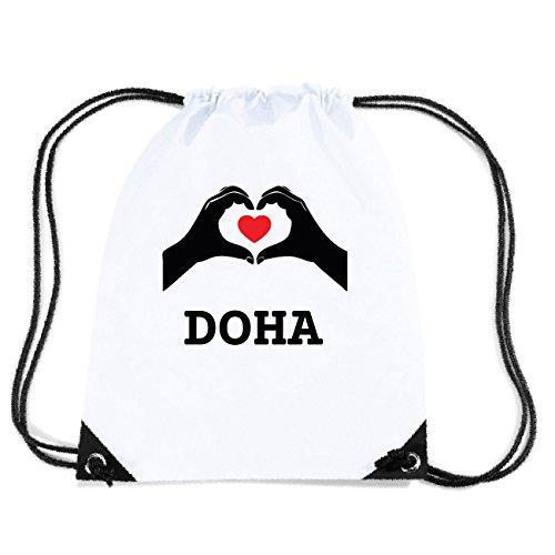 JOllify DOHA Turnbeutel Tasche GYM4740 Design: Hände Herz