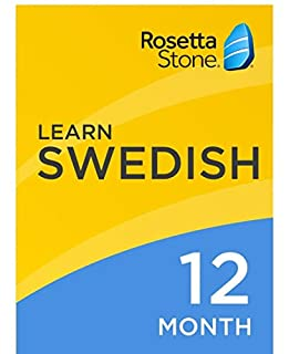 [OLD ASIN] Rosetta Stone: Learn Swedish for 12 months on iOS, Android, PC, and Mac [Activation Code by Mail] (B07HGBDP4B) | Amazon price tracker / tracking, Amazon price history charts, Amazon price watches, Amazon price drop alerts