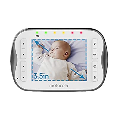 Motorola WiFi 3.5 Inch Video Baby Monitor - MBP843CONNECT