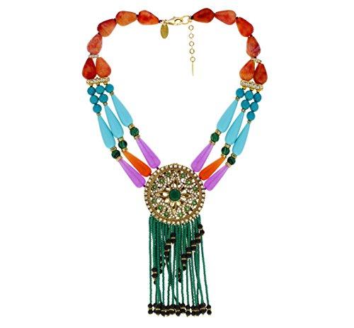 Aikaterini psoma ethnique collier de 43cm