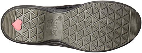 Sanita Mujeres O2 Life-ease Slip-on Loafer Black Patent