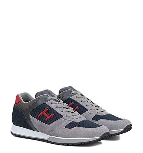 Hogan Sneakers H Flock Grigio