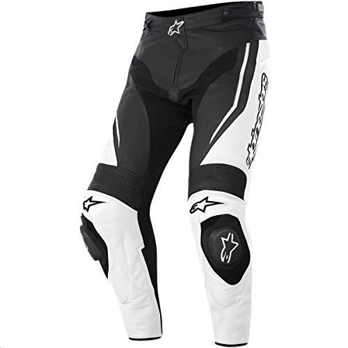 Alpinestars Track Men's Sports Bike Motorcycle Pants - White/Black/Size 38