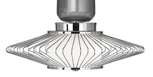UPC 736101509332, Possini Euro Design Chrome Wire Ceiling Fan Light Kit