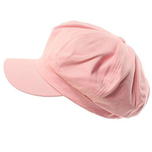 Summer 100% Cotton Plain Blank 8 Panel Newsboy Gatsby Apple Cabbie Cap Hat - Teenage Fashion