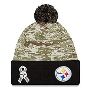 a28375c4344 ... New Era Men s NFL 2015 Pittsburgh Steelers Salute To Service Knit. upc  889352976818 product image1