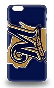 Iphone 6 3D PC Soft Case Cover MLB Milwaukee Brewers Logo 3D PC Soft Case Eco Friendly Packaging ( Custom Picture iPhone 6, iPhone 6 PLUS, iPhone 5, iPhone 5S, iPhone 5C, iPhone 4, iPhone 4S,Galaxy S6,Galaxy S5,Galaxy S4,Galaxy S3,Note 3,iPad Mini-Mini 2,iPad Air )