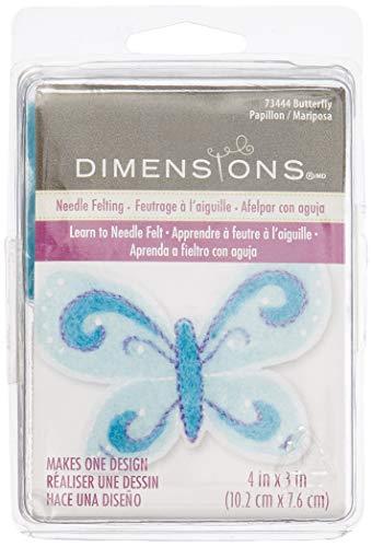 Dimensions Needlecrafts Feltworks Butterfly Felt Kit