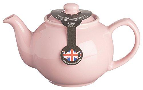 Price & Kensington Stoneware Teapot, 15-Fluid Ounces, Pastel Pink