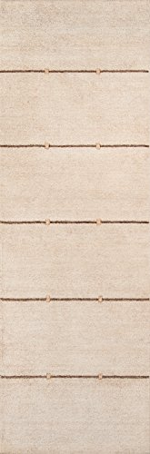 Momeni Rugs GRAMEGM-03SND2680 Gramercy Collection, 100% Wool Hand Loomed Contemporary Area Rug, 2'6