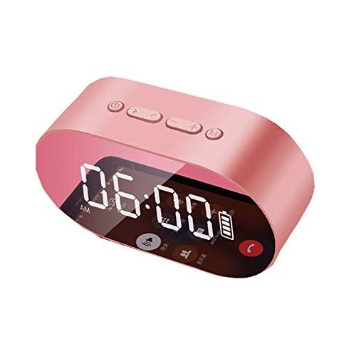Bluetooth speakersWireless Bluetooth Speaker Mini Alarm Clock Small Audio Portable Truck Carrying Ultra Bass Gun Belt U Disk