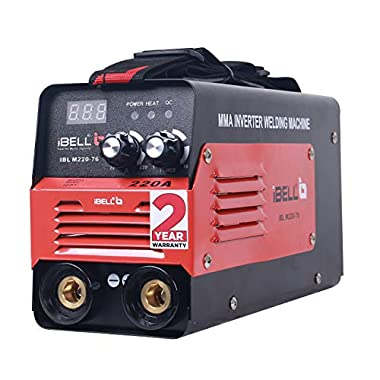 iBELL Inverter ARC Welding Machine (IGBT) 220A with Hot Start, Anti-Stick Functions, Arc Force Control - 2 Year Warranty 5