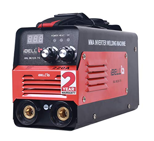 iBELL Inverter ARC Welding Machine (IGBT) 220A with Hot Start, Anti-Stick Functions, Arc Force Control - 2 Year Warranty 1