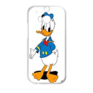 Donald Duck HTC One M8 Cell Phone Case White Phone cover J9733156