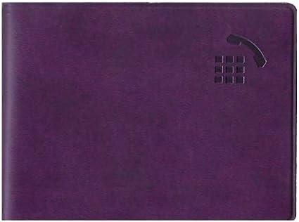Exacompta R/épertoire//Carnet dadresses 7 x 9,5 cm Flora Violet
