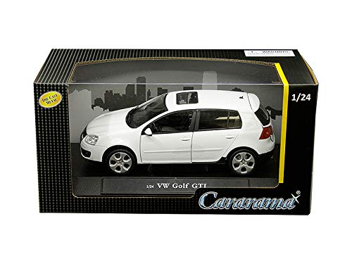 Cararama Volkswagen Golf GTI with Sunroof White 1/24 Diecast Model Car