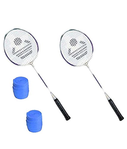 Cosco CB 885 Badminton Racket Pair With Plastic Grip   Pack of 2