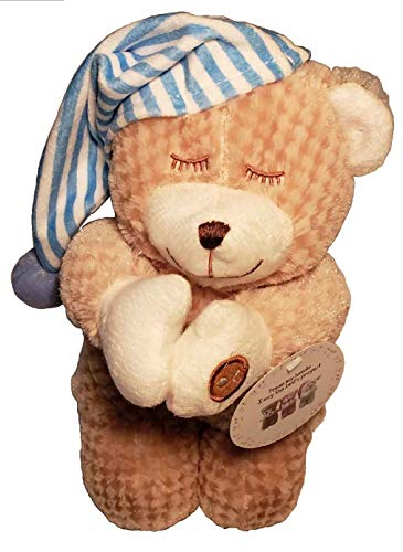 - Goffa Plush Brown Teddy Bear 10 inches - Press My Hands and I say The Lords Prayer