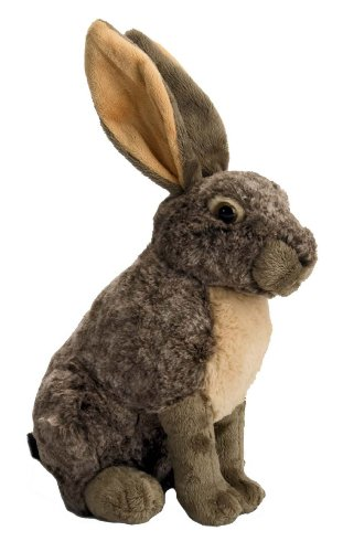 "Wild Republic Cuddlekins Hare 12"" Plush"