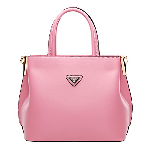 New Fashion Women PU Leather Handbag Crossbody Satchel Shoulder Messenger Bag-Khaki