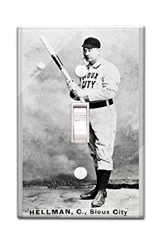sioux-city-minor-league-tony-hellman-baseball-card-light-switchplate-cover