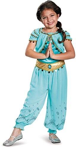 Jasmine Prestige Disney Princess Aladdin Costume, Small/4-6X for $<!--$40.34-->