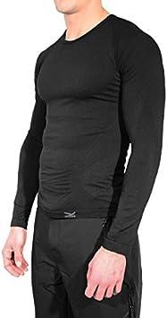 Joluvi Camiseta TERMICA Intimo Line Unisex Negra Antibacteriano: Amazon.es: Deportes y aire libre